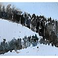 Two Days after Christmas on Mount Royal, 5x7, watercolour Dec 27/10