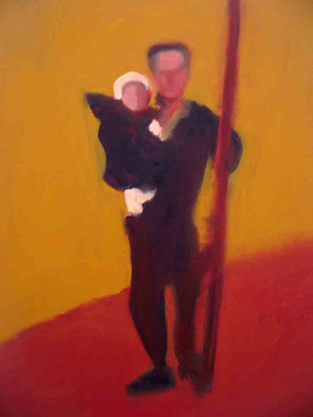 """Dad, oil on canvas, 2007, 24""""x36"""" NFS"""