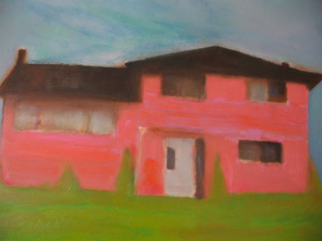 The Big PInk, oil on canvas,48x60,  2005